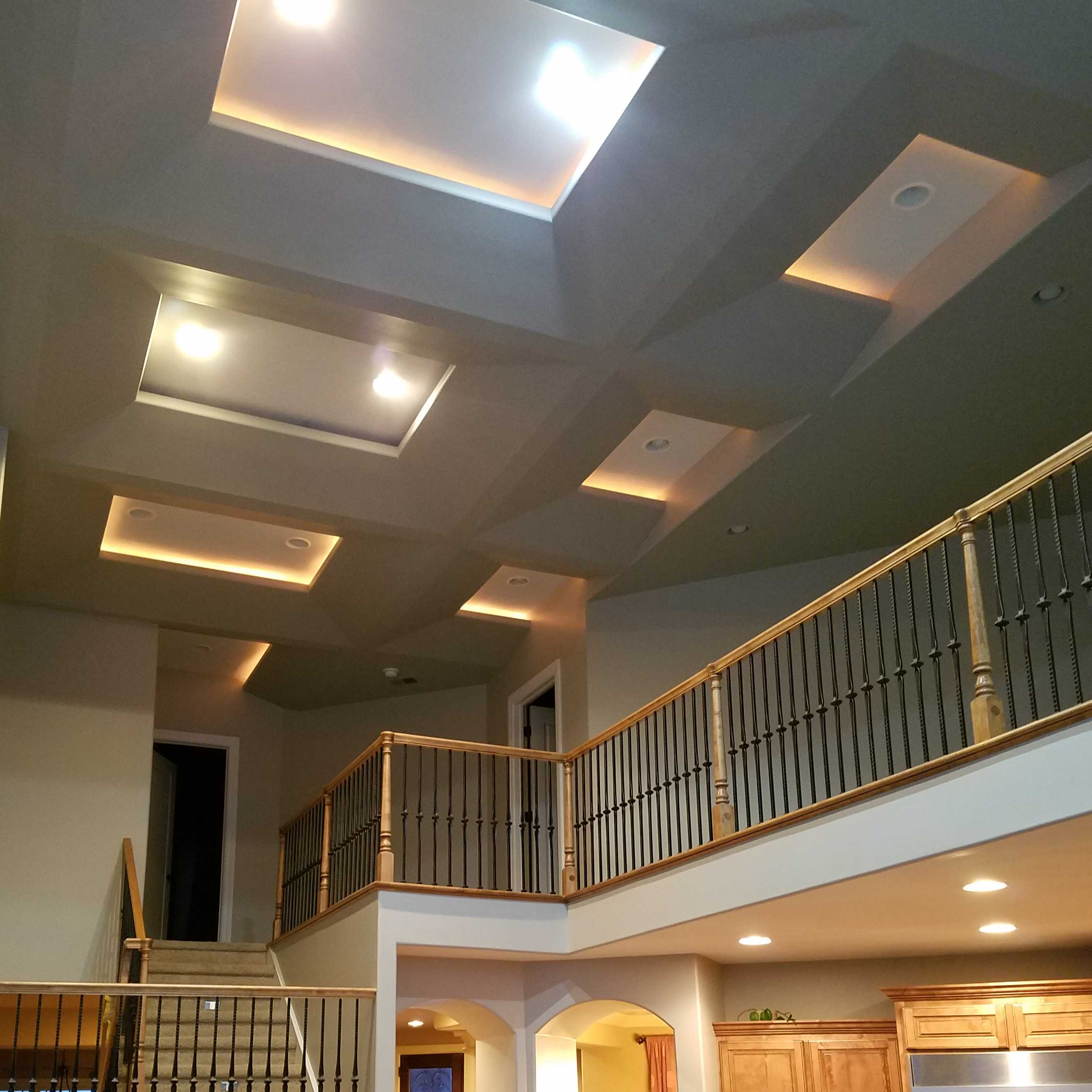 Covering Interior Painting